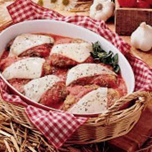 Cube Steak Parmigiana Recipe