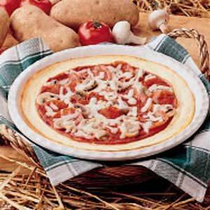 Potato-Crust Pizza Recipe
