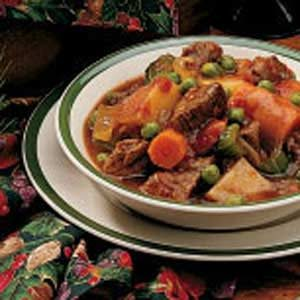 One-Dish Oven Stew Recipe