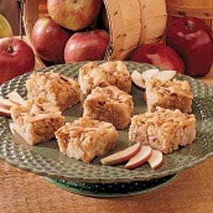 Apple Snack Squares Recipe