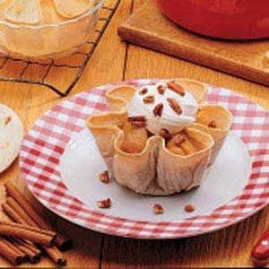 Apple Praline Cups Recipe