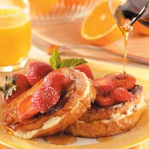 Strawberry Cheesecake French Toast Recipe