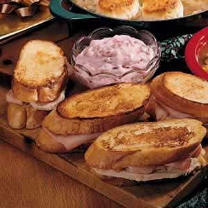 Toasted Turkey Sandwiches Recipe