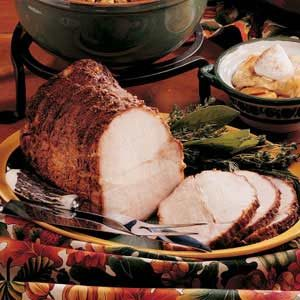 Spicy Pork Roast Recipe