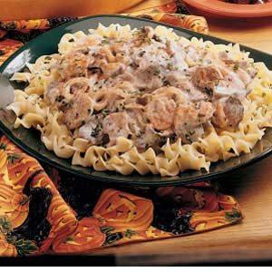 Tangy Beef Mushroom Stroganoff