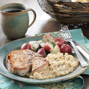 Elegant Pork Chops Recipe