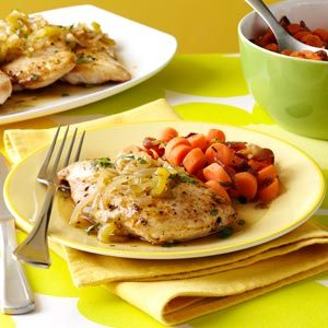 Chicken with Sweet Jalapeno Sauce Recipe