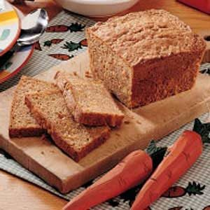 Carrot Pineapple Bread Recipe