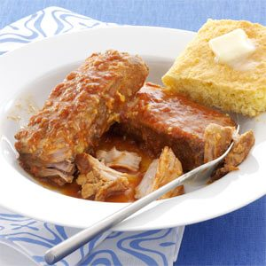 Slow Cooked BBQ Pork Ribs Recipe