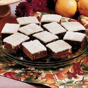 Glazed Orange Date Squares Recipe