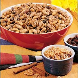Spiced Nut Mix Recipe