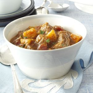Pumpkin Harvest Beef Stew Recipe