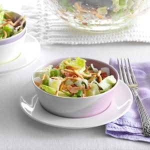 Crunchy Tossed Salad Recipe