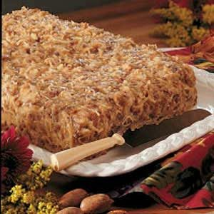 German Chocolate Birthday Cake Recipe
