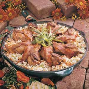 Quail With Rice