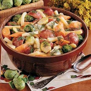 Winter Root Vegetables Recipe