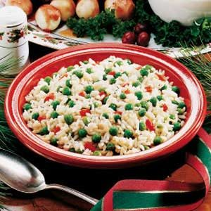 Holiday Peas and Rice Recipe