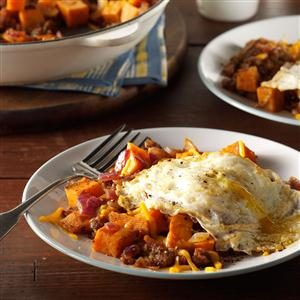 Sausage & Sweet Potato Hash Recipe