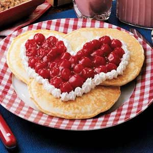 Sweetheart Pancakes Recipe