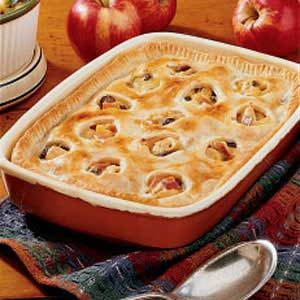 Turkey Apple Potpie Recipe