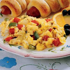 Calico Scrambled Eggs Recipe