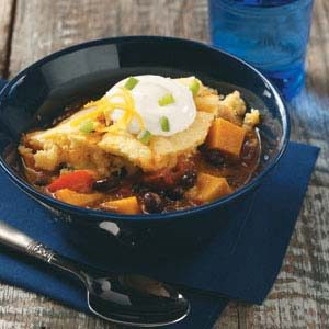 Sweet Potato Chili Bake Recipe