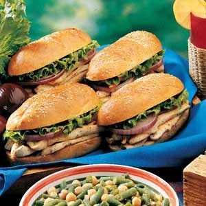 Broiled Chicken Sandwiches