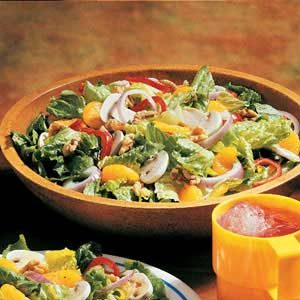 Quick Citrus Tossed Salad Recipe