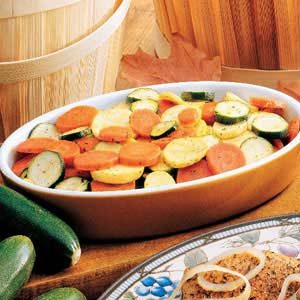 Skillet Ranch Vegetables Recipe