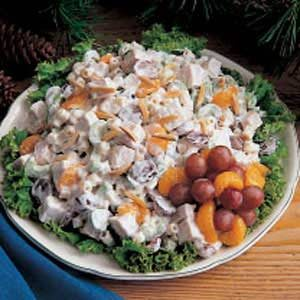 Turkey Mandarin Salad Recipe