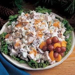 Turkey Mandarin Salad
