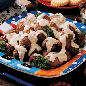 Stroganoff Meatballs Recipe