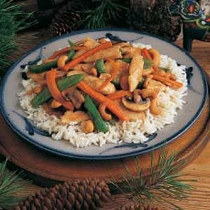 Turkey Stir-Fry Recipe
