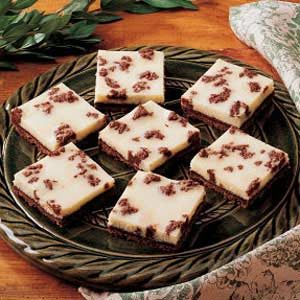 Black 'n' White Cheesecake Bars Recipe