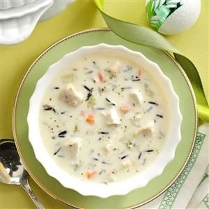 Turkey Wild Rice Soup Recipe