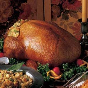 Turkey with Corn Bread Dressing