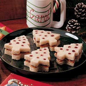 Christmas Tree Sandwiches Recipe