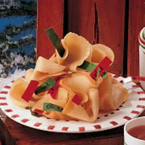 Caroling Fortune Cookies Recipe