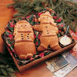 Sweet Yeast Bread Carolers Recipe