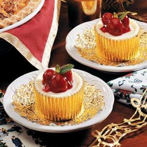 Cherry Cheese Cupcakes Recipe