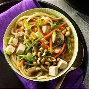 Asian Tofu Noodle Soup