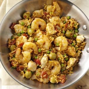 Hearty Paella Recipe