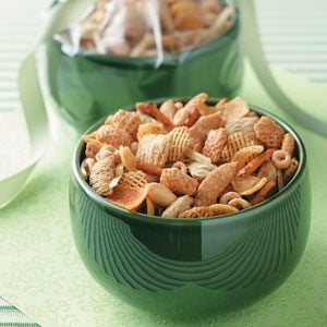 Well-Seasoned Snack Mix Recipe