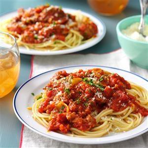 Sausage, Artichoke & Sun-Dried Tomato Ragu Recipe