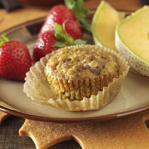 Breakfast Sausage & Sweet Potato Muffins Recipe