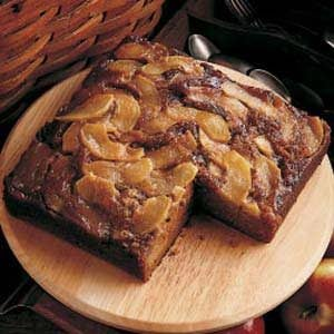 Upside-Down Apple Gingerbread Recipe