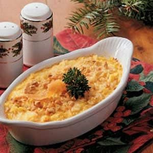 Cheesy Carrot Casserole Recipe