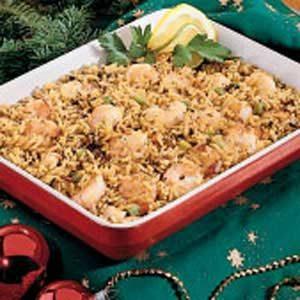 Wild Rice Shrimp Saute Recipe