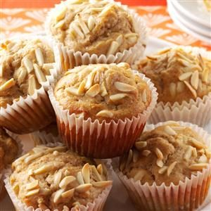 Apple-Almond Muffins