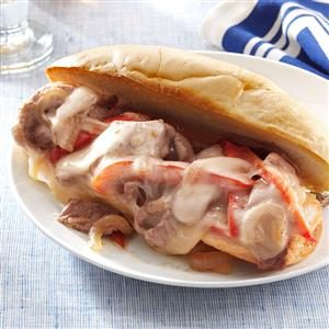 Easy Philly Cheesesteaks Recipe